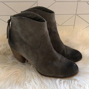 BP gray/taupe bootie 8.5